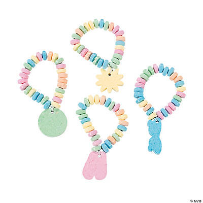 Pool Party Candy Charm Bracelets