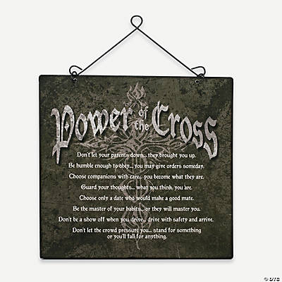 """Power of the Cross"" Wall Décor"