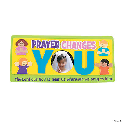 Prayer Picture Frame Magnet Craft Kit