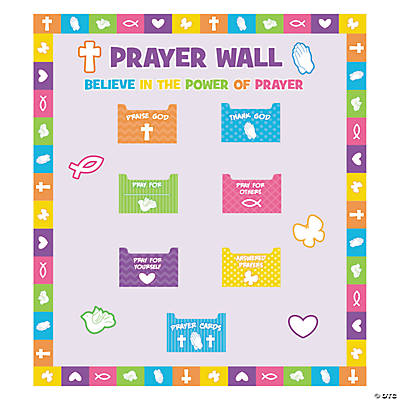 Prayer Wall Bulletin Board Set