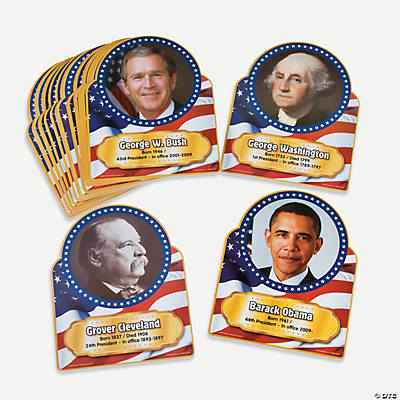 President Facts Border Trim Set