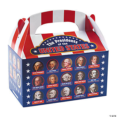 Presidential Facts Treat Boxes