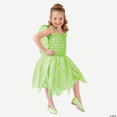 Pretty Green Fairy Girl's Toddler Costume