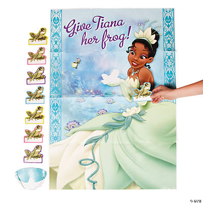 Princess & the Frog Party Game