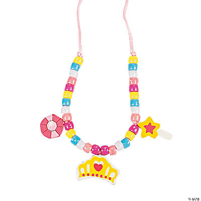 Princess Wood Necklace Craft Kit