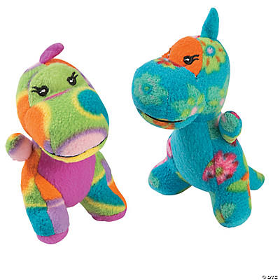 Printed Stuffed Dinosaurs
