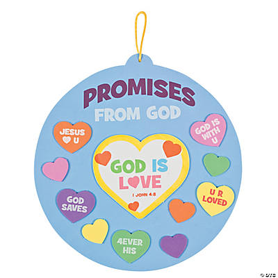 """Promises From God"" Sign Craft Kit"