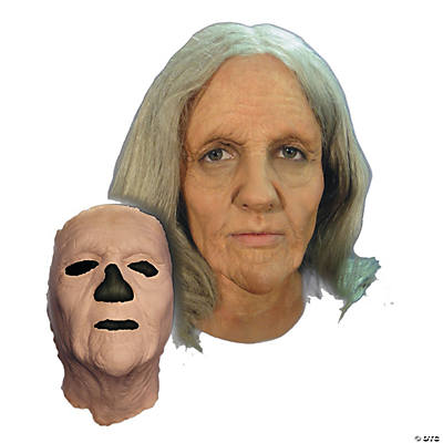 Prosthetic Old Woman Mask