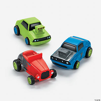 Pullback Character Race Cars