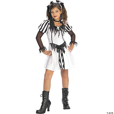 Punky Pirate Girl's Costume