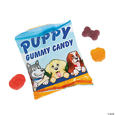 Puppy Party Gummy Fun Packs