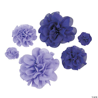 Purple Monochromatic Flowers
