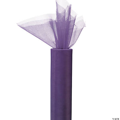 Purple Tulle Roll