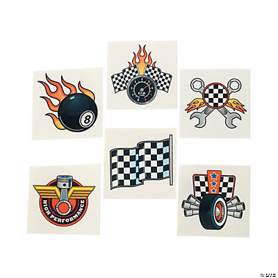 Race Car Tattoos