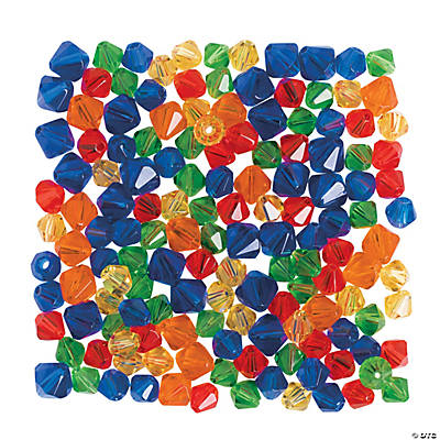 Rainbow Crystal Bead Assortment - 6mm - 8mm