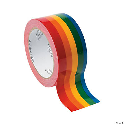 Rainbow Duct Tape Oriental Trading Discontinued