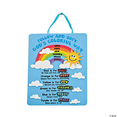 Rainbows of Virtue Sign Craft Kit