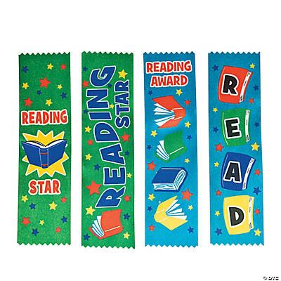Reading Award Ribbons  Oriental Trading  Discontinued