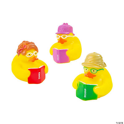 Reading Rubber Duckies