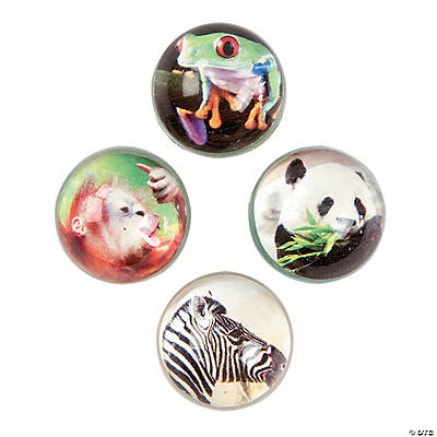 Realistic Animal Bouncing Balls