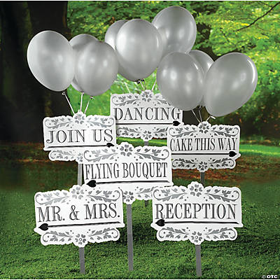 Reception Yard Signs Kit