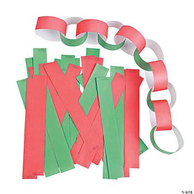 Red & Green Christmas Tree Chains