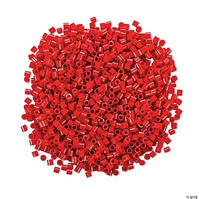 Red Fuse Beads - 1/4""