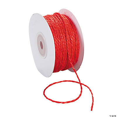 Red Jute Cord
