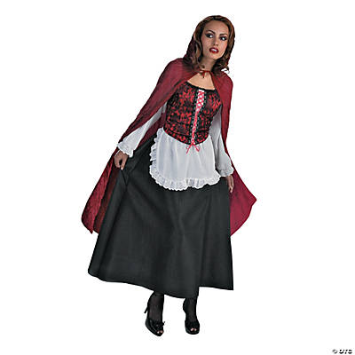 Red Riding Hood Adult Women's Costume