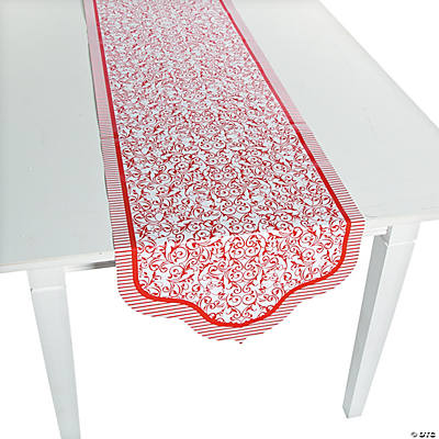 Red Wedding Table Runner