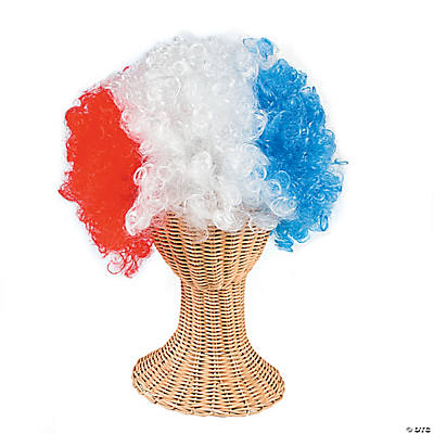 Red, White & Blue Wig