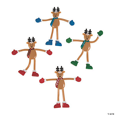 Reindeer Bendables