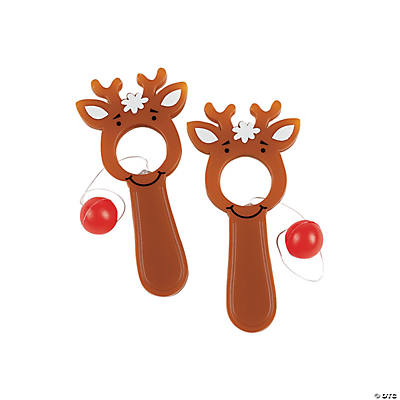 Reindeer Bull's-Eye Games
