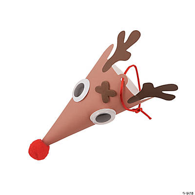 Reindeer Cone Ornament Craft Kit