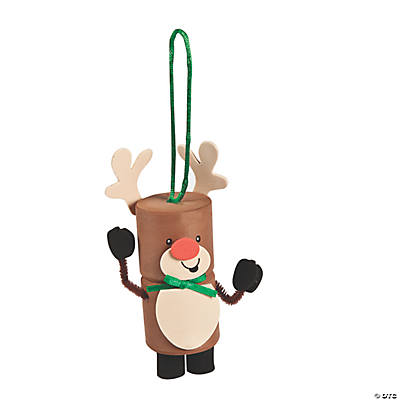 Reindeer Marshmallow Ornament Craft Kit