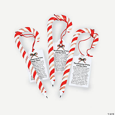 Religious Candy Cane Pens with Card