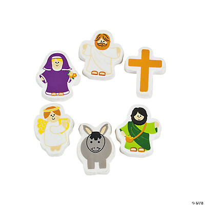 Religious Character Erasers
