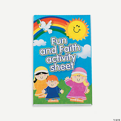 Religious Children's Activity Sheets
