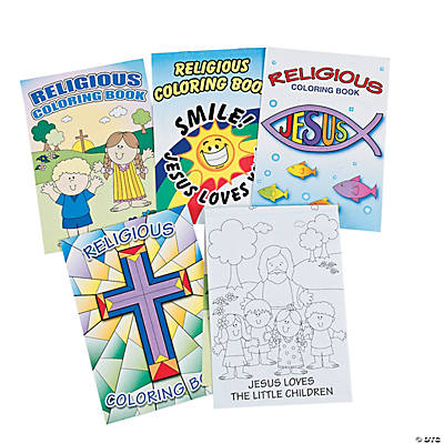 religious coloring books