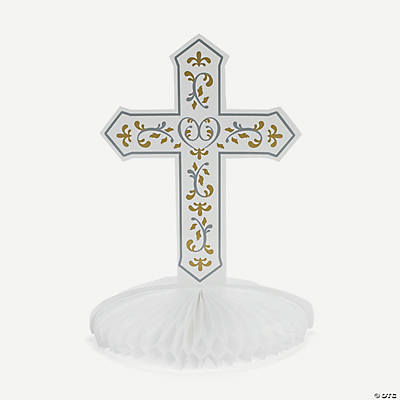 Religious Cross Centerpiece