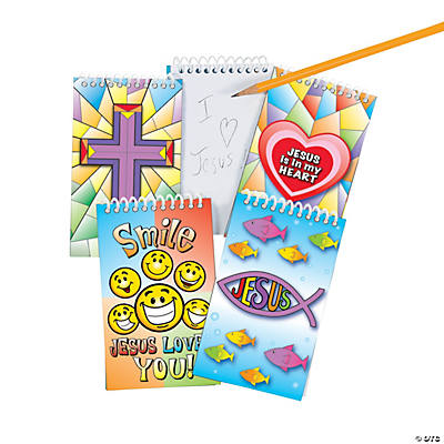 Religious Spiral Notepads