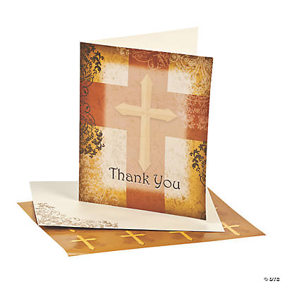 "Religious ""Thank You"" Cards"