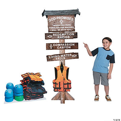 River Canyon VBS Directional Sign Stand-Ups