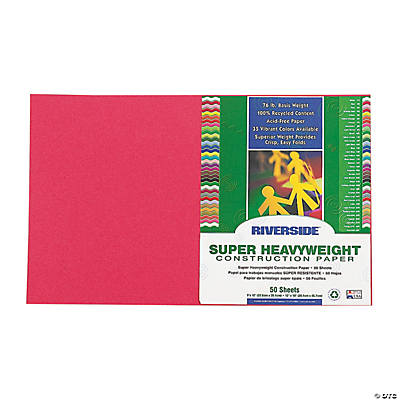 "Riverside® Construction Paper - 12"" x 18"""