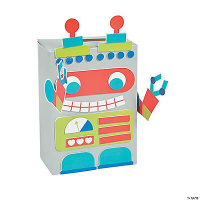 Robot Valentine Card Holder Box  Oriental Trading  Discontinued