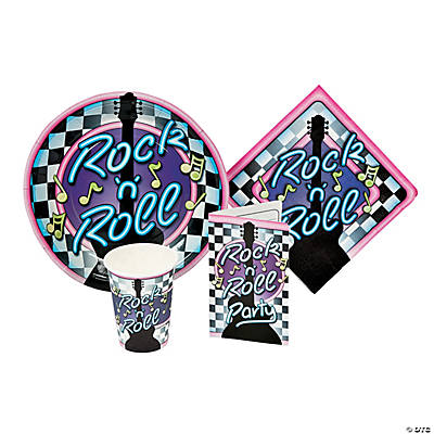 Rock N Roll Tableware & Invites