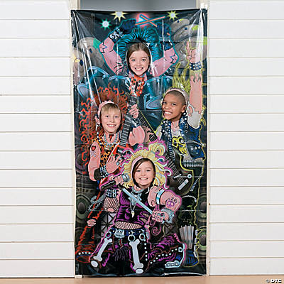 Rock Stars Photo Door Banner