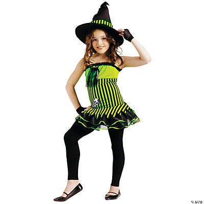 Rockin' Witch Girl's Costume