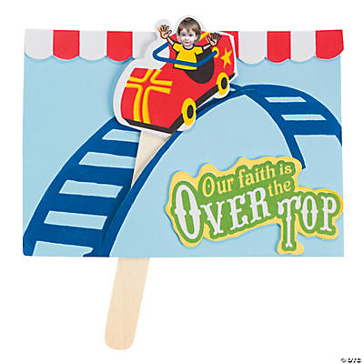 "Roller Coaster Ride ""Over the Top"" Craft Kit"
