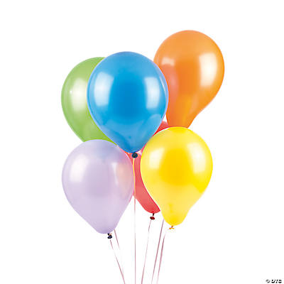 Round Latex Balloons - 7""